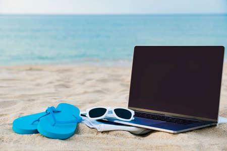 Summer holiday concept, Summer beach accessories 041