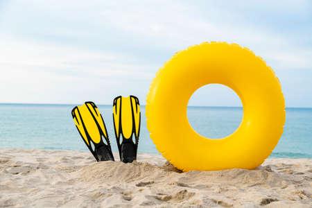 Summer holiday concept, Summer beach accessories 037