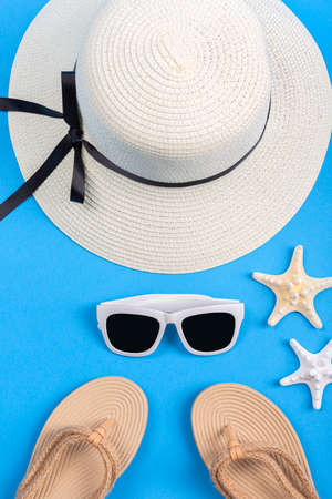 Summer holiday concept, Summer beach accessories 074 Banque d'images