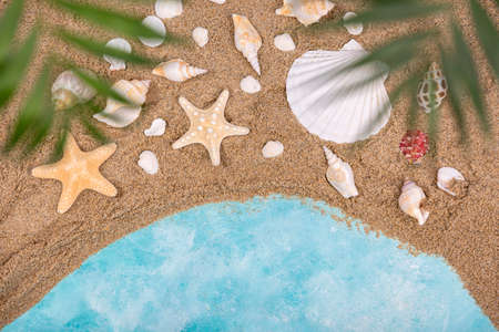 Summer holiday concept, Summer beach accessories 059 Banque d'images