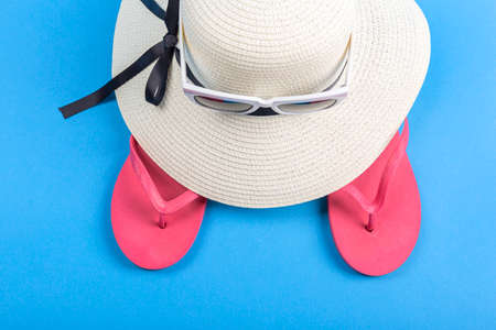 Summer holiday concept, Summer beach accessories 072 Banque d'images