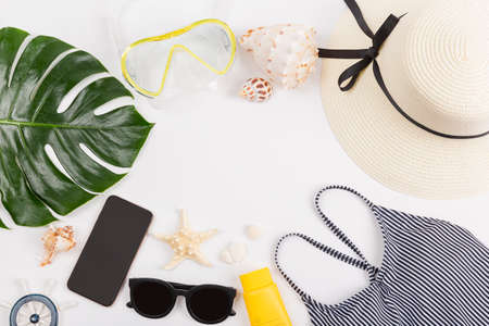 Summer holiday concept, Summer beach accessories 105