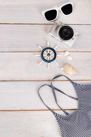 Summer holiday concept, Summer beach accessories 159