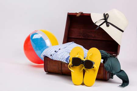 Summer holiday concept, Summer beach accessories 154