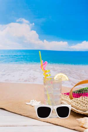 Summer holiday concept, Summer beach accessories 163