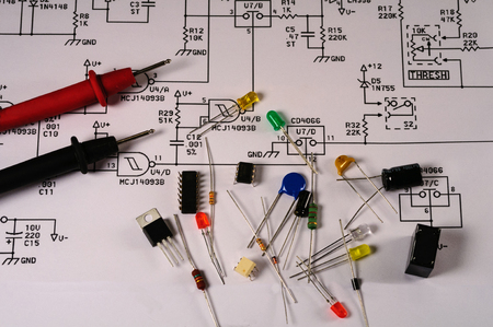 electrical parts: Electronic Electrical Schematic and Parts