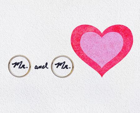 Wedding Rings For Homosexual Gay Guys In Love