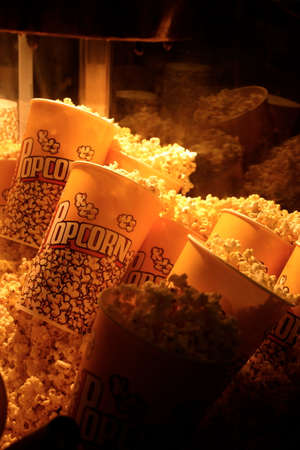 buttered: Fresh Buttered Movie Theater Popcorn