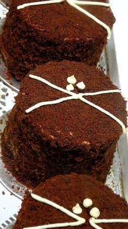 triad: Triad of Individual Mini Chocolate Mousse Cakes