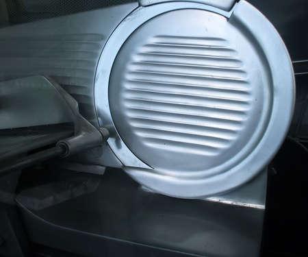 専門のステンレス鋼デリ肉工業スライサー