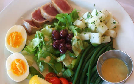 Fresh Flavor of French Summer Salad Nicoise photo