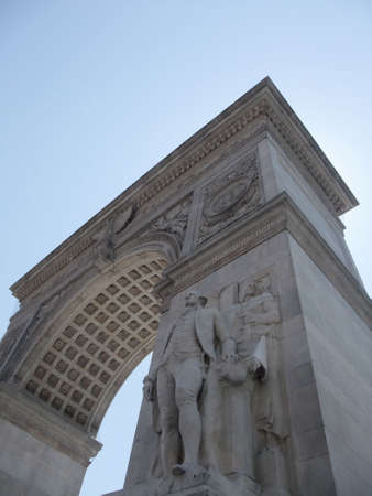Washington Square Park Arch, New York City photo