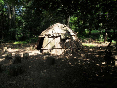 wigwam: A traditional Native American shelter or wigwam