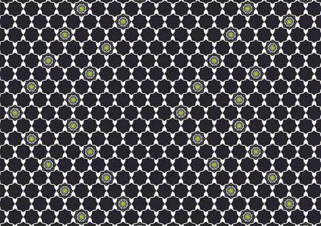 berber: Simple design inspiration polygons Arabic black and green