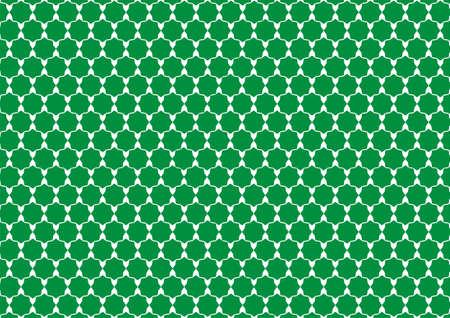 berber: Simple design inspiration green polygons Arabic