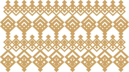 borde decorativo elegante compone de oro cuadrado y blanco 13