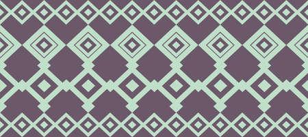 borde decorativo elegante compone de azul y verde oscuro luz cuadrada