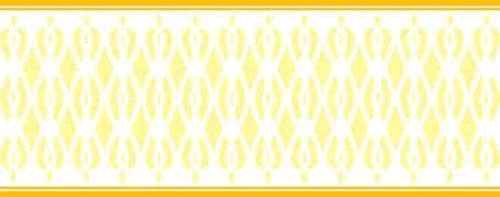 borde decorativo elegante compone de varios colores amarillo