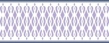 borde decorativo elegante compone de los colores azul