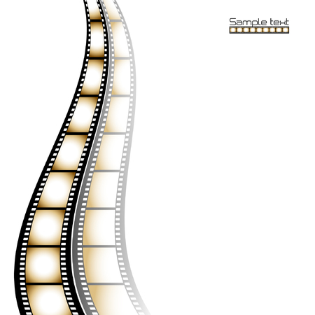 Film strip background with place for text. Stock Vector - 6461640