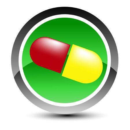 Medical icon. Vector illustration. Vector