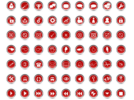 set of money: Web Icon Set Vector