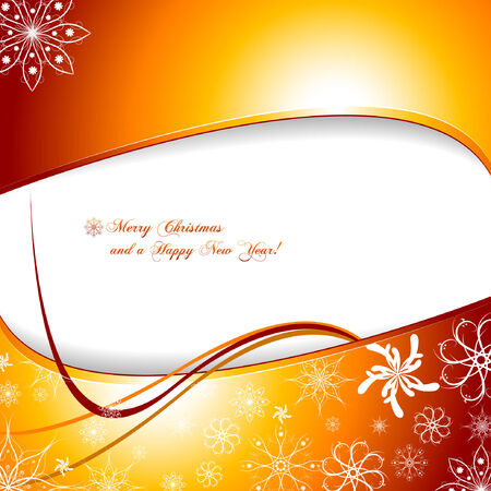 Background with snowflakes and place for text.Vector