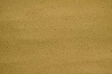 Close up abtract clean brown paper texture Stock Photo