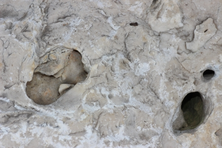 textura: piedra con Agujero Archivio Fotografico