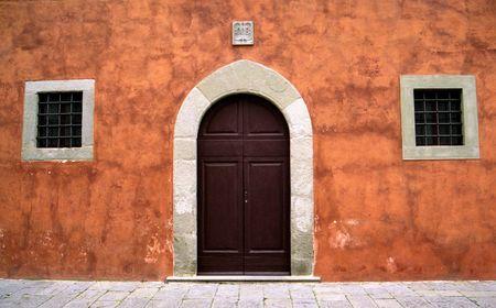 Door and Windows in Tuscany Stock fotó