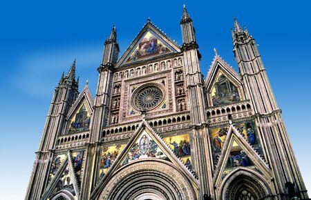 orvieto: Catedral de Orvieto en Italia