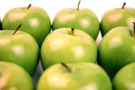 9 Granny Smith Apples photo