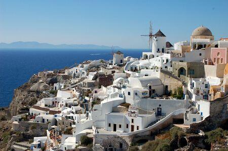 A beautiful scene from Oia on Greece's Santorini Island.
