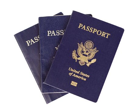 Three US passports.