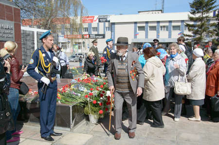 fascism: Veterans of the great Patriotic Soldiers 1941  Celebration of the great victory over fascism  Editorial