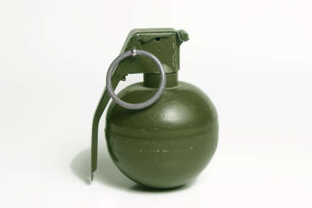 Hand Grenade isolated on white background Imagens