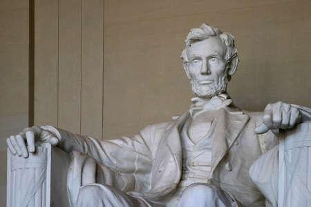 Statue von Abraham Lincoln im Lincoln Denkmal Standard-Bild - 267350