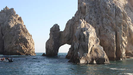Lands End Iconic Cabo San Lucas Mexico Formation Redakční