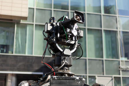 Professional television equipment. 写真素材