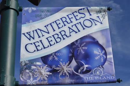 Winterfest Celebration in Gatlinburg Tennessee