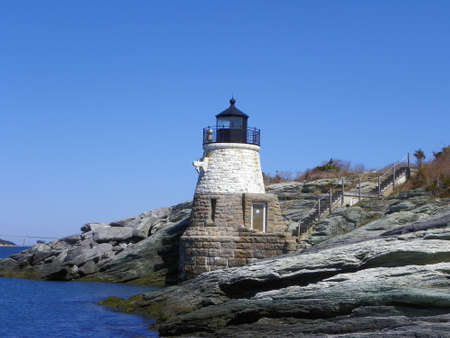 Castle Hill Lighthouse, RI, USA photo