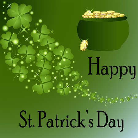 St Patrick s Day-Pot of Gold  Stock Photo - 24952312