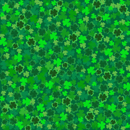 ST Patricks-Clover Background  photo