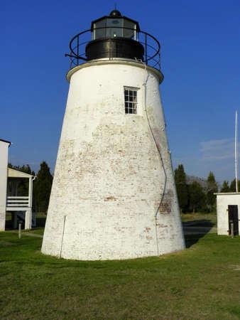 Faro del punto de Piney, Maryland Foto de archivo - 24952338