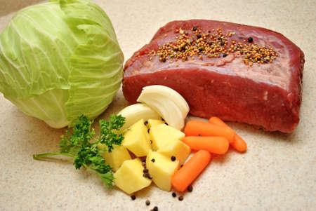 Tasty Corned Beef Ingredients
