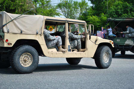 unstoppable: Army Men in a Jeep