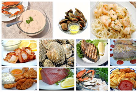 Seafood Collage photo