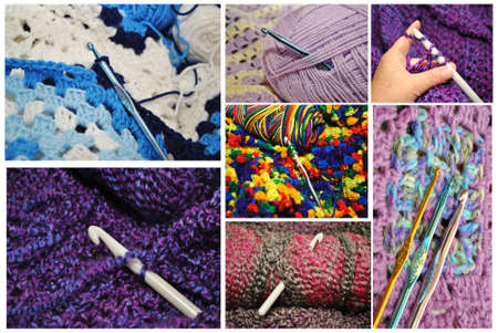 Crochet Collage  photo