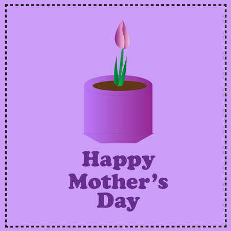 planted: Mothers Day-Purple Flower