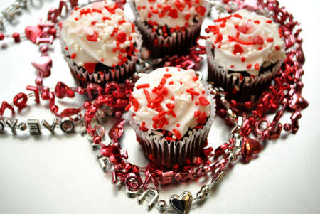 Love Beads with Cupcakes  photo